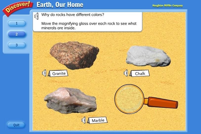 Разглядим камни
