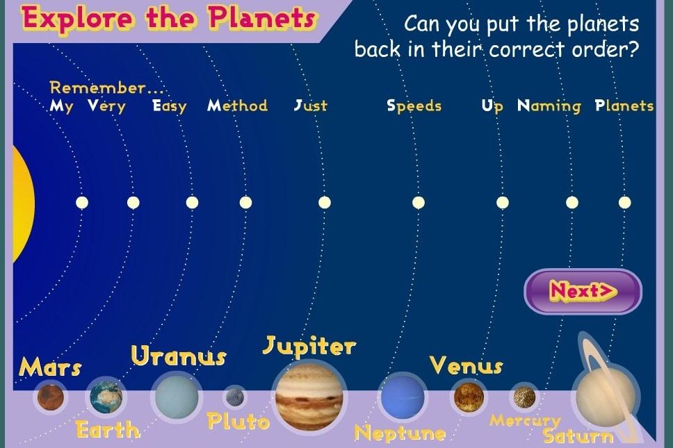 Изучение планет