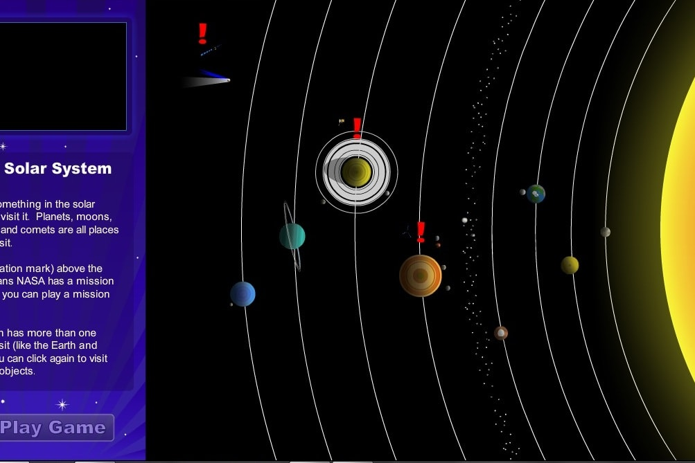 Изучение планет солнечной системы