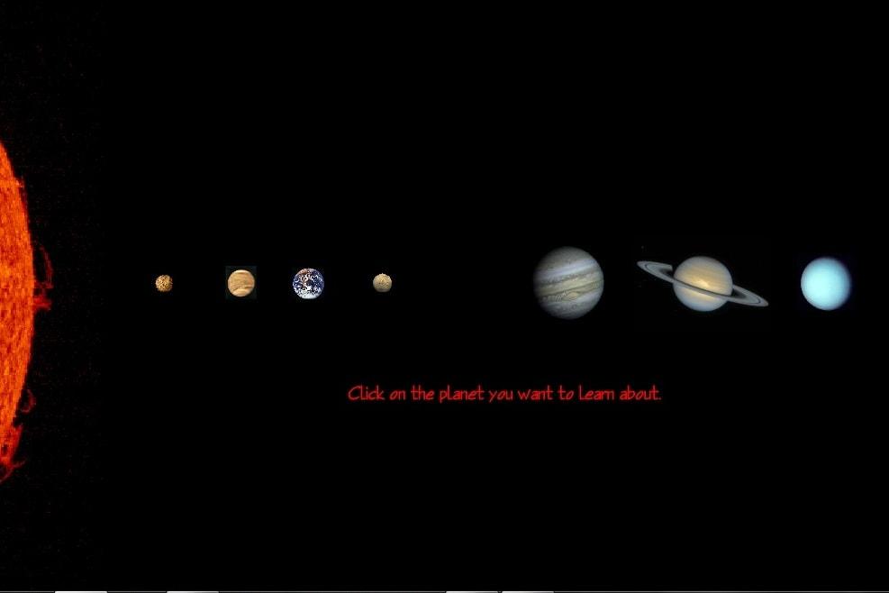 Информация о планетах