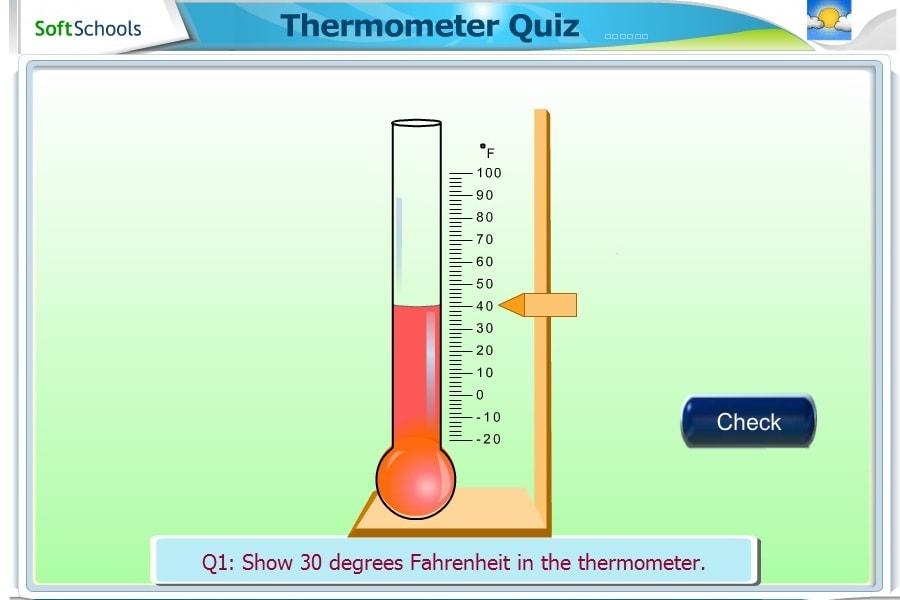 Термометр-викторина
