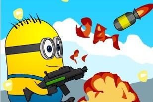 Авария ракеты Миньоны зомби