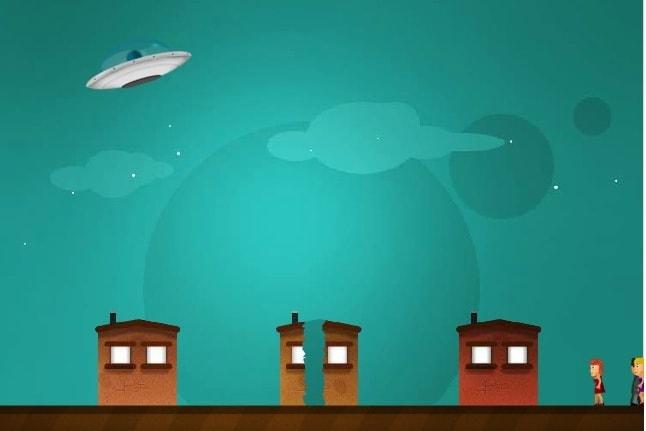 Летающее НЛО