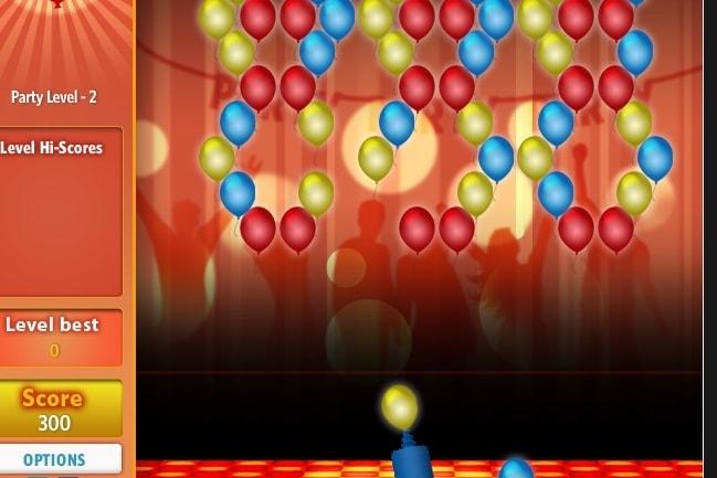 Взрыв шаров