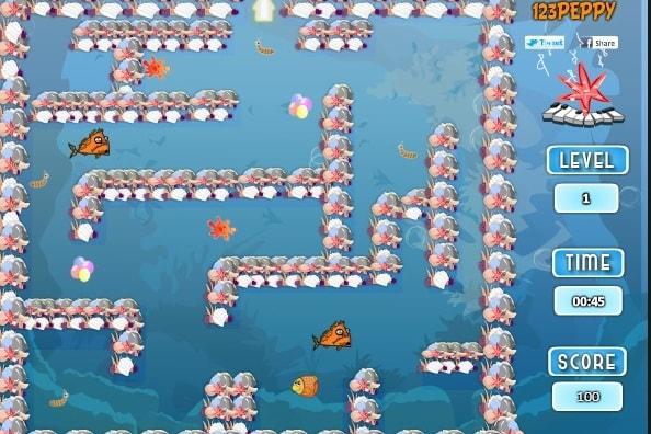 Лабиринт рыбных кормов