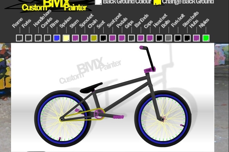 Раскрась BMX