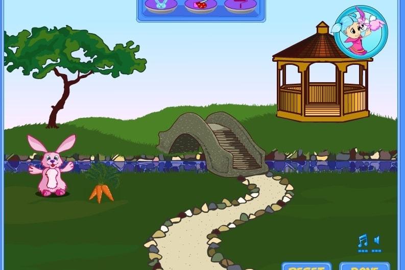 Милая ферма зайчика