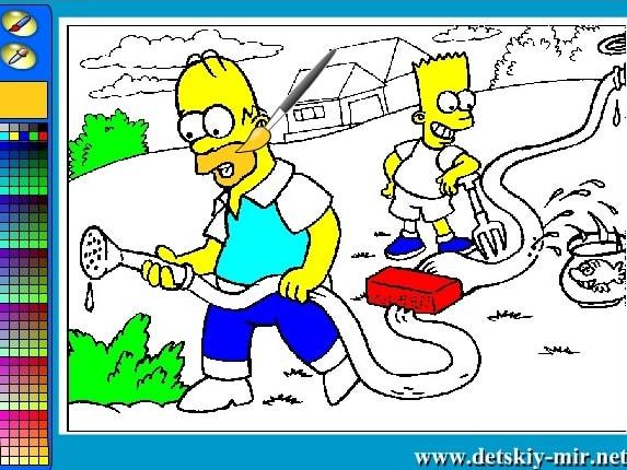 Симпсоны на огороде