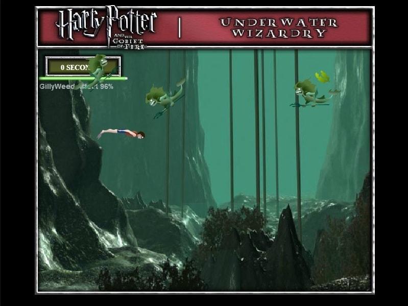 Гарри Поттер Подводное колдовство