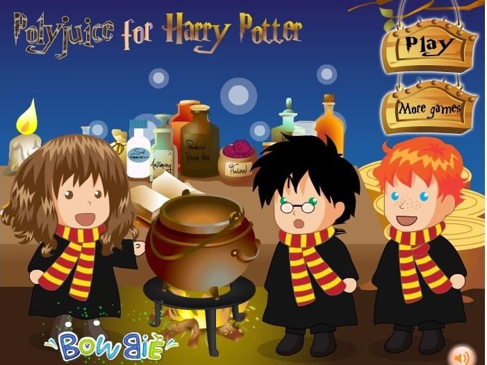 Оборотное зелье для Гарри Поттера