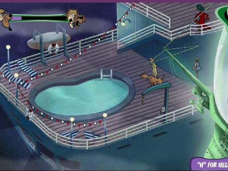 Скуби Ду атака пиратов