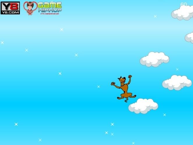 Прыжки в облаках Скуби Ду