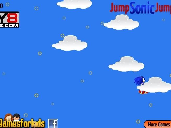 Прыгай Соник прыгай