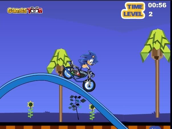 Соник экстремальный мотоцикл