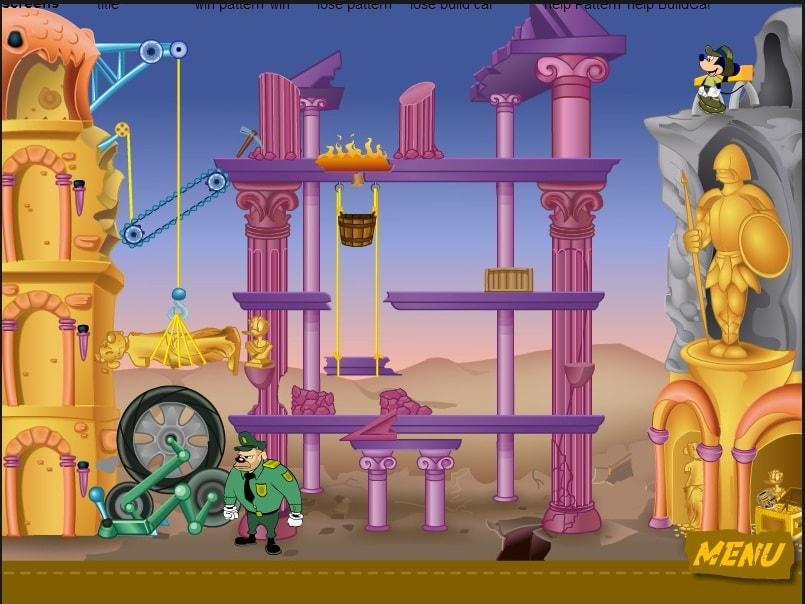 Микки Маус в потерянном сокровище Марон