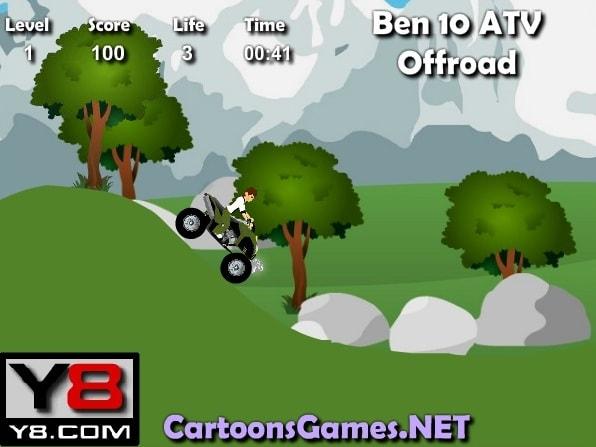 Квадроцикл Бена 10
