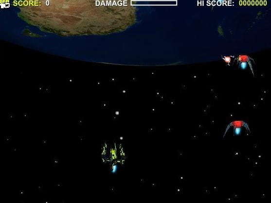 Бен 10 в космическом корабле