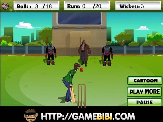 Бен 10 крикет