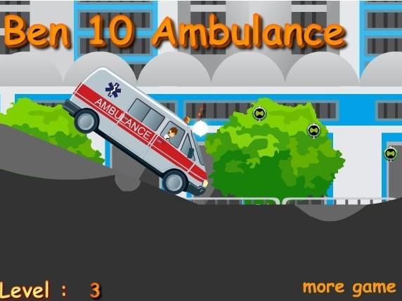 Бен 10 на скорой помощи