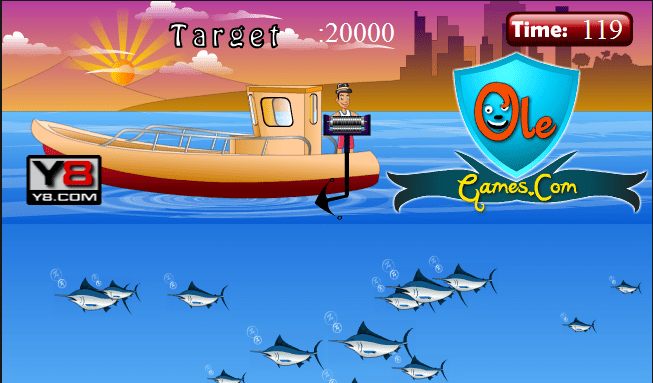 Охота на спящую рыбу
