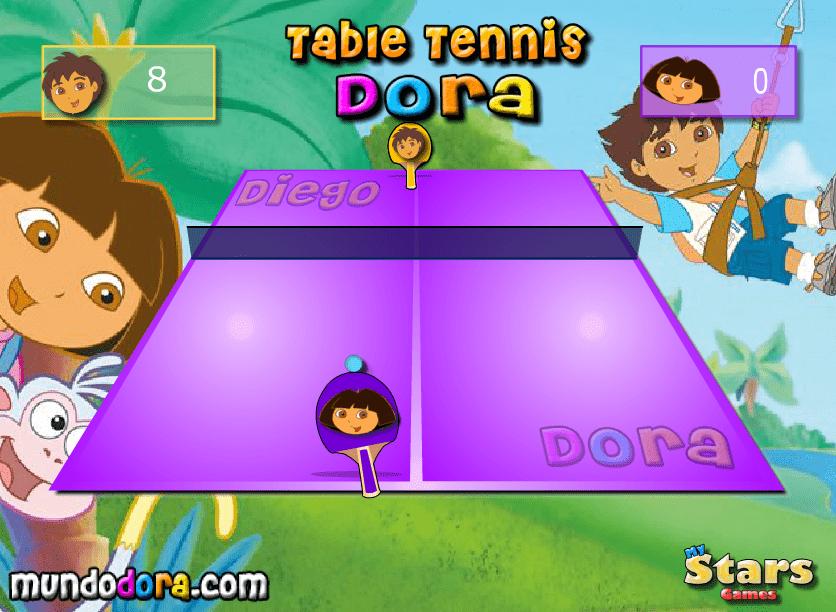 Играем в настольный теннис онлайн