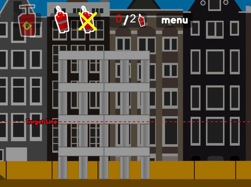 Взрываем дома онлайн