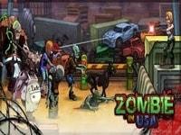 Выстрел в зомби
