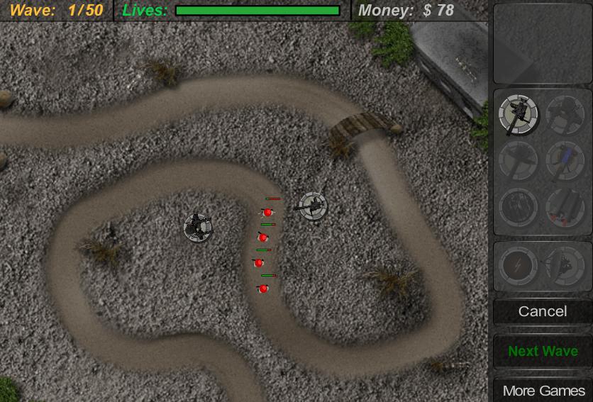 Защита локации от врага онлайн