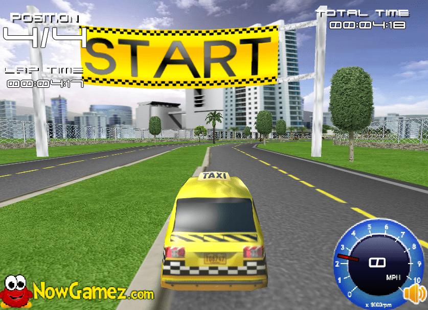 Гоночное такси онлайн