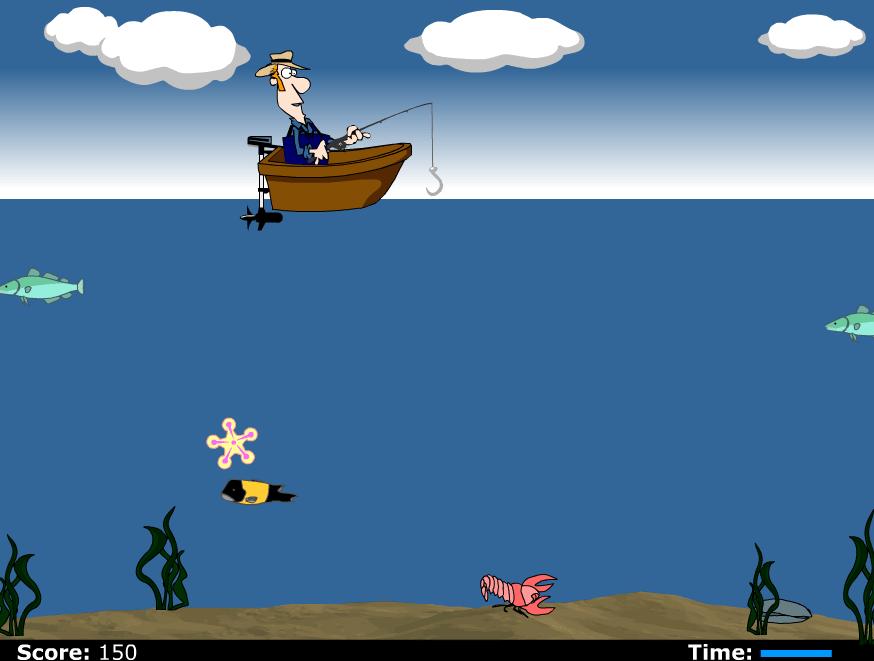 Рыбалка на ферме онлайн