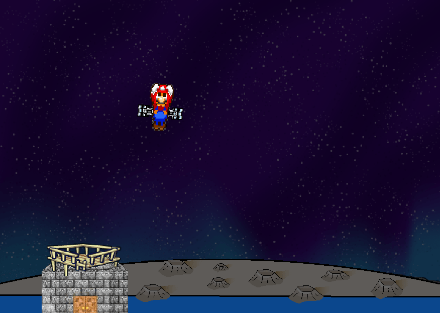 Марио в космосе онлайн