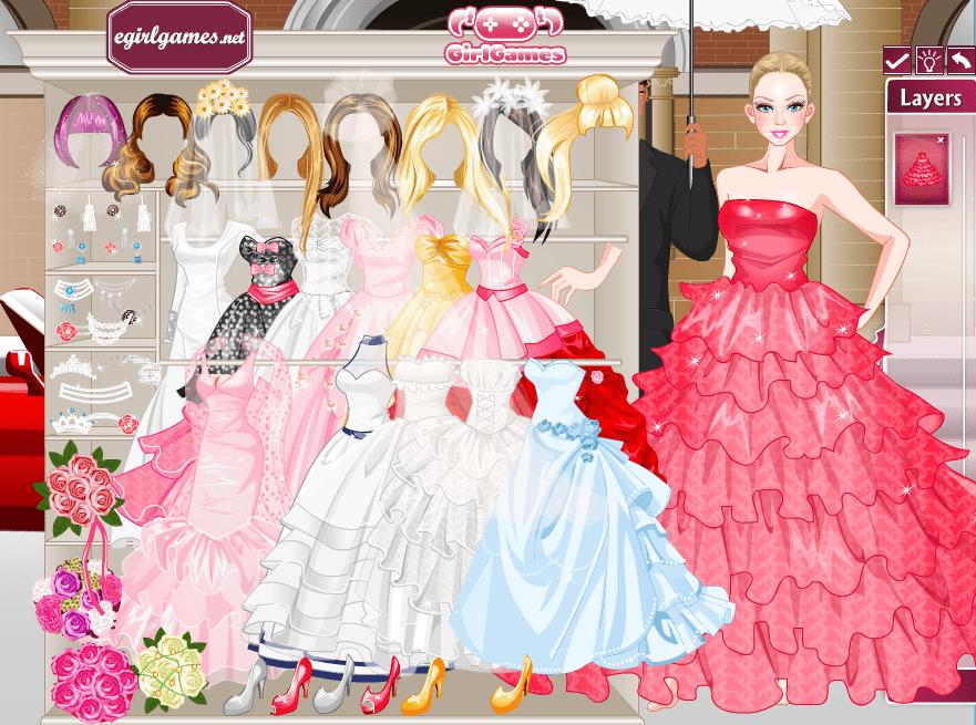 Барби и свадьба онлайн