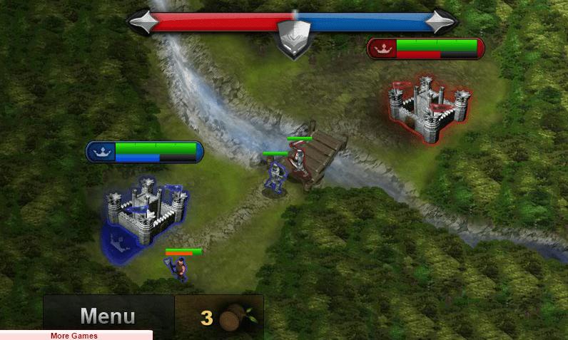 Замок против замка онлайн