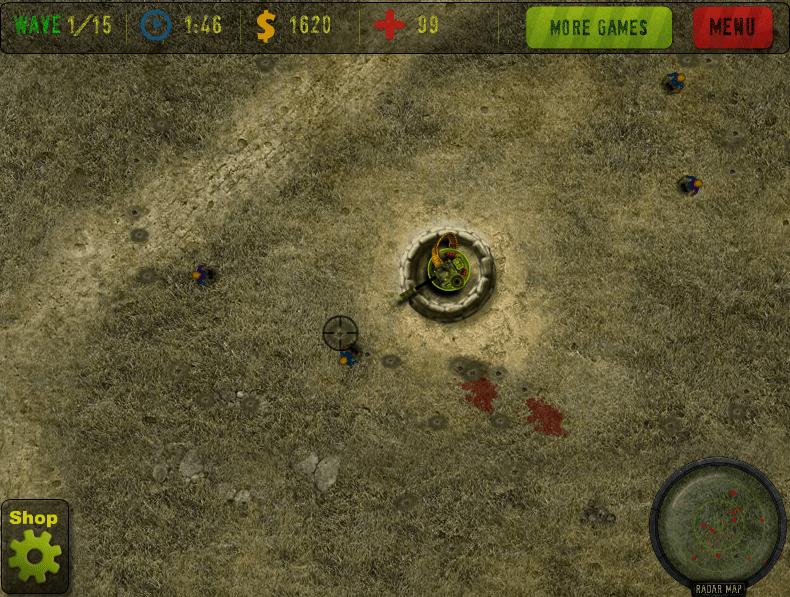 Бункер против зомби онлайн