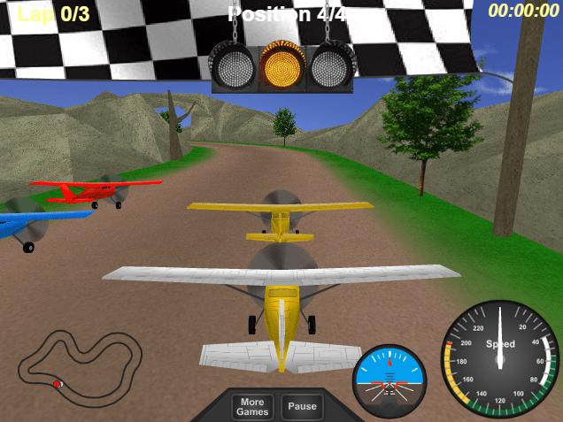 Гонки аэропланов онлайн