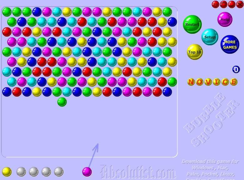 Расстрел шариков онлайн