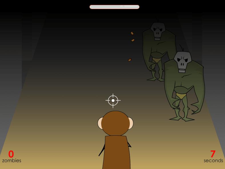 Мартышка против зомби онлайн