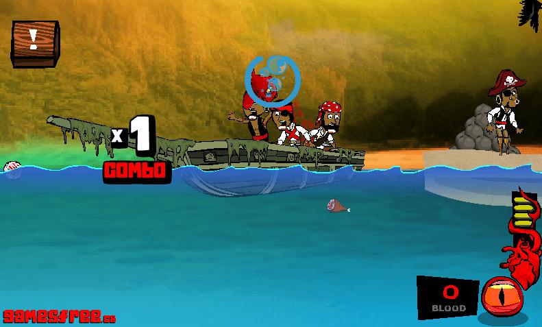 Рыба против пиратов онлайн