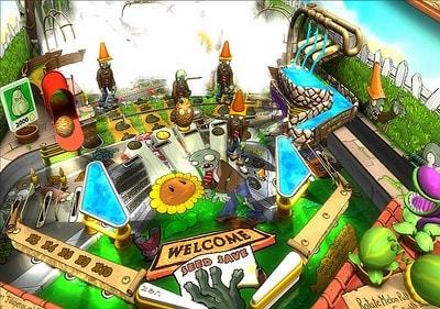 Игра растения против зомби пинбол