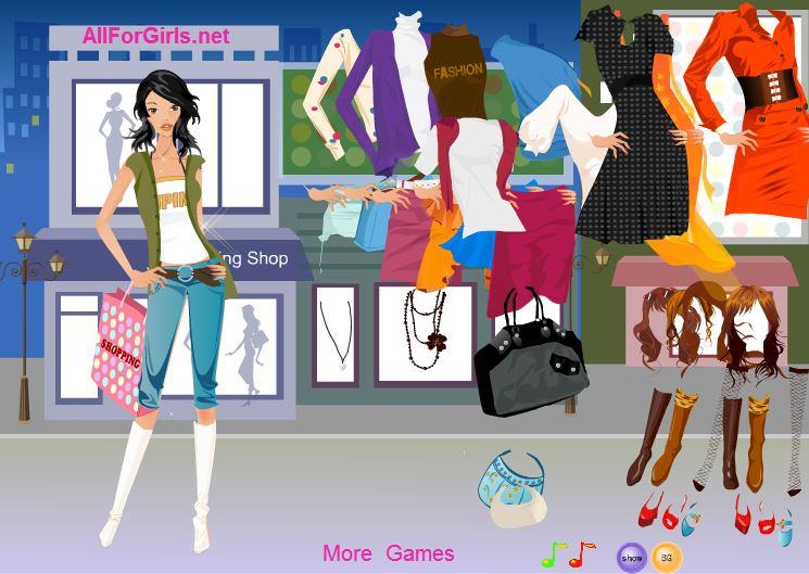 Модный магазин одежды
