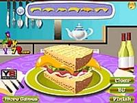 Приготовление бутерброда