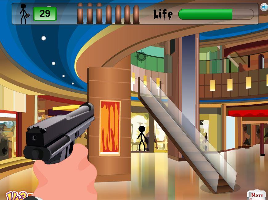Стрельба в супермаркете