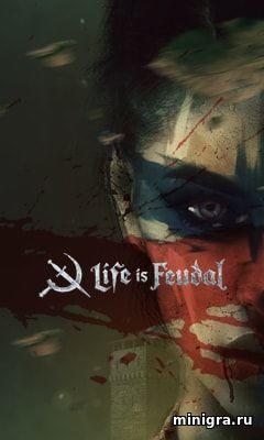 Игра Life is Feudal - поселение воинов феодалов