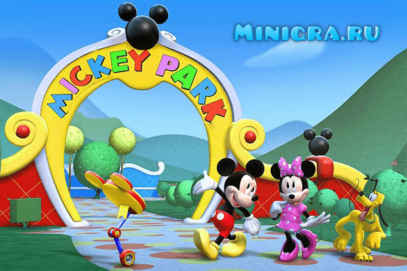Микки Маус игры